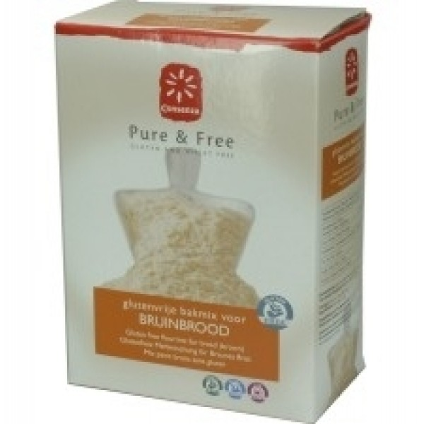 Meel voor bruinbrood