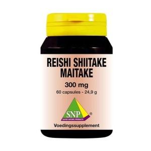 Reishi shiitake maitake 300 mg