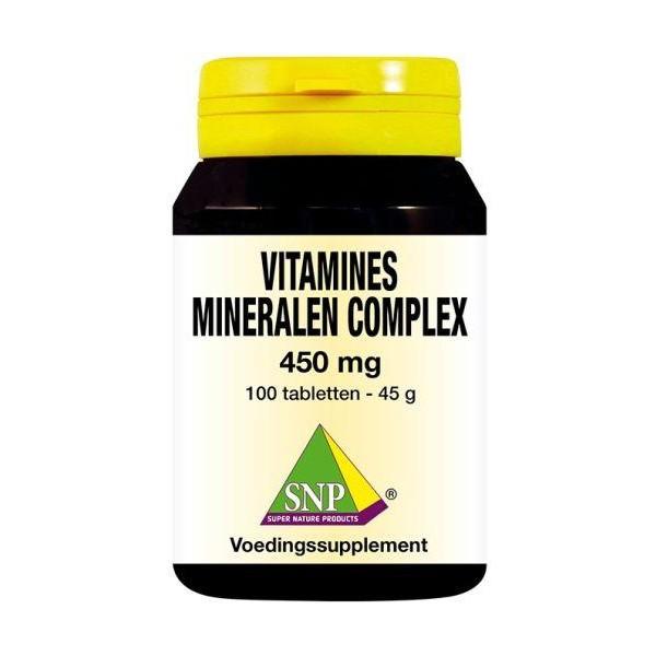 Vitamines mineralen complex 450 mg