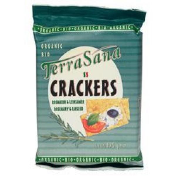 Crackers lijnzaad & rozemarijn