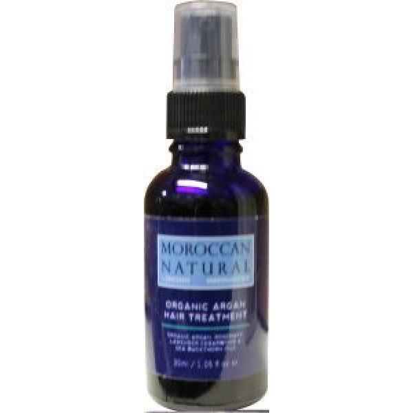 Organic argan hair treatment