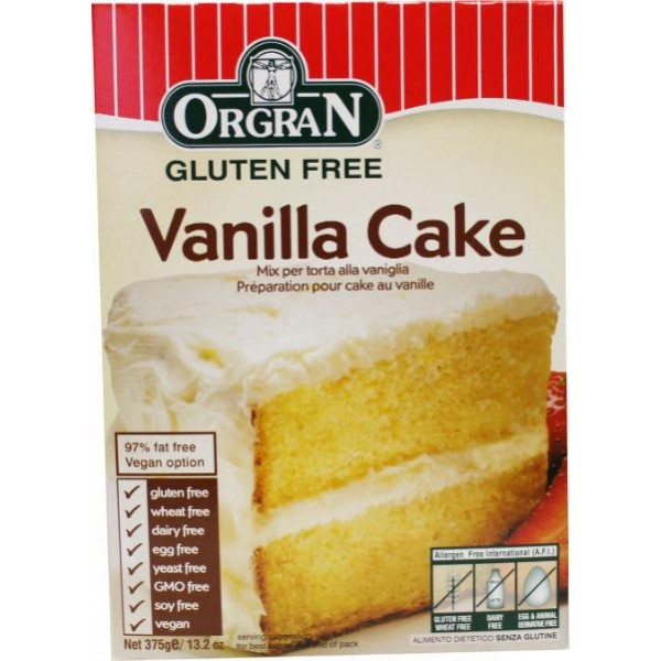Vanille cake mix