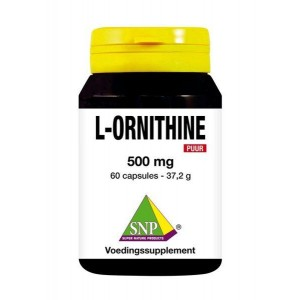 L-Ornithine 500 mg puur