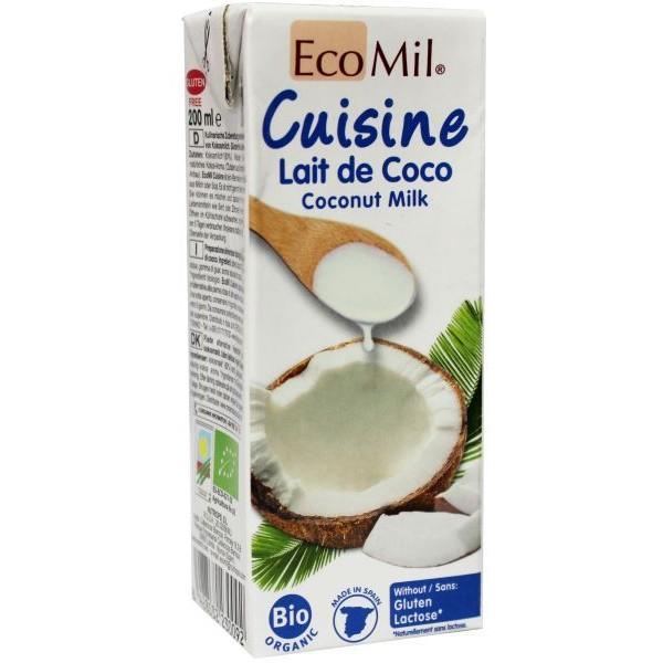 Kokosmelk cuisine