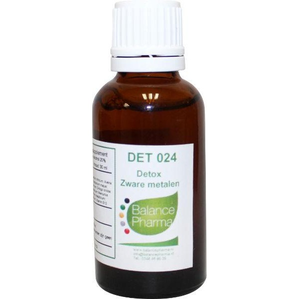 DET024 Zware metalen detox