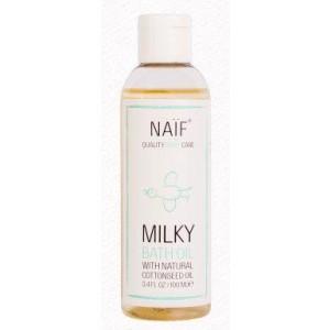 Baby milky bath oil