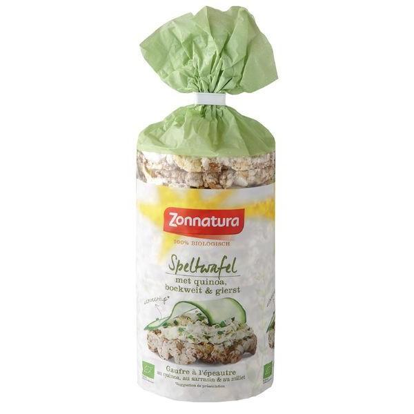 Speltwafels met quinoa