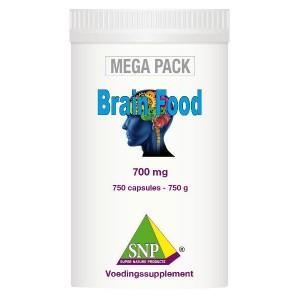 Brainfood 700 mg megapack SNP