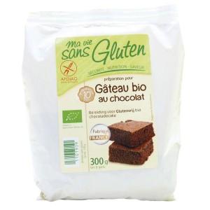 Chocolade cakemix bio - glutenvrij