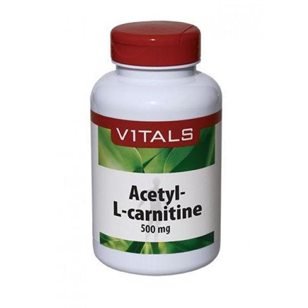 Acetyl-L-carnitine 500 mg vitals