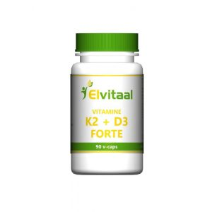Vitamine K2 + D3 forte Elvitaal