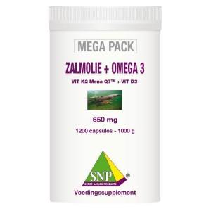 Zalmolie & omega 3 megapack