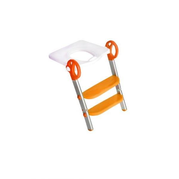 Toily 2 in 1 wit / oranje