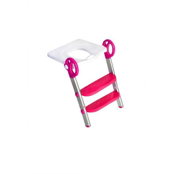 Toily 2 in 1 wit / roze