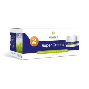 Super greens 2-pack Vitakruid 2x220g