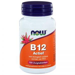 Vitamine B12 actief NOW