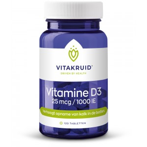 Vitamine D3 25mcg Vitakruid