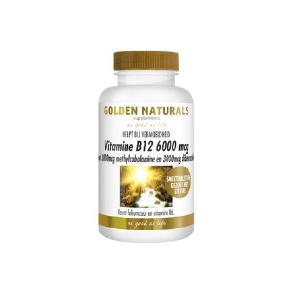Vitamine B12 mythyl debencozide Golden Naturals