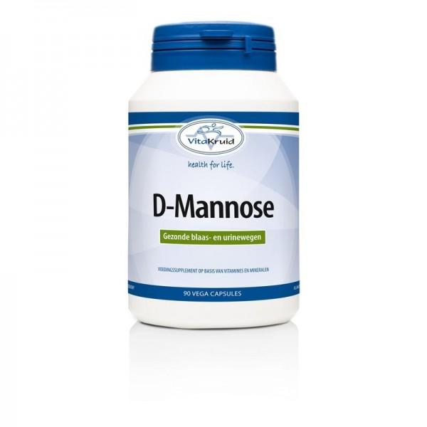 D-Mannose 500 Vitakruid 90cap