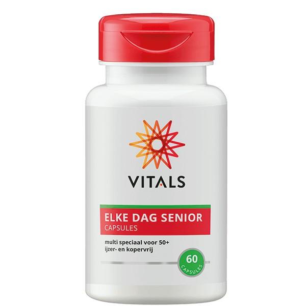 Elke dag senior capsules Vitals 60cap