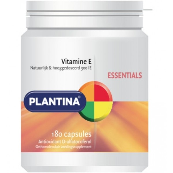 Vitamine E 300IE Plantina 180cap