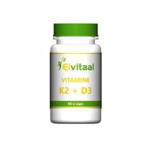 Vitamine K2 & D3 Elvitaal 90st