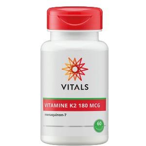 Vitamine K2 180 mcg Vitals 60vc