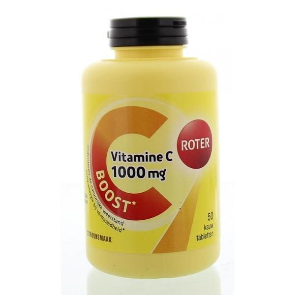 Vitamine C 1000 mg Roter 50st
