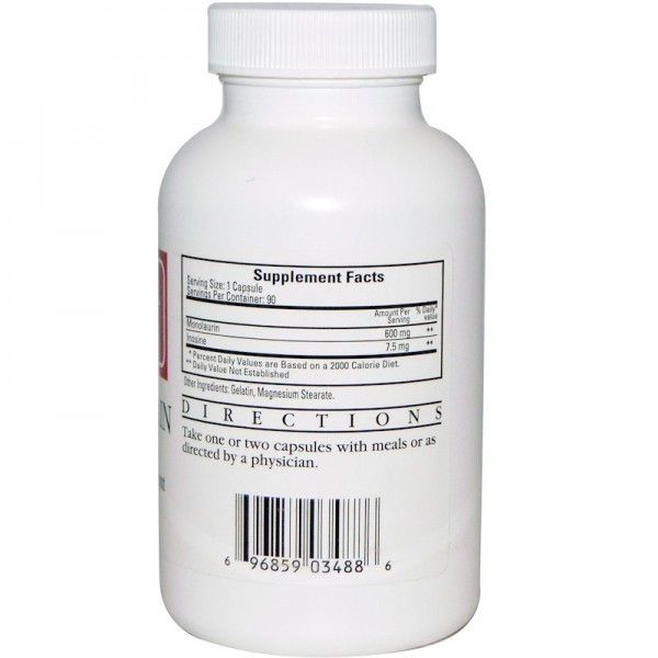 Monolaurine 600mg 90cap