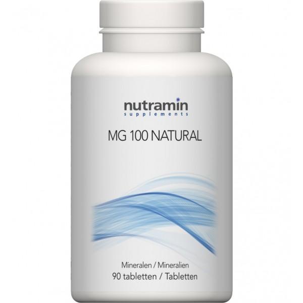 NTM MG 100 naturel Nutramin 90tab