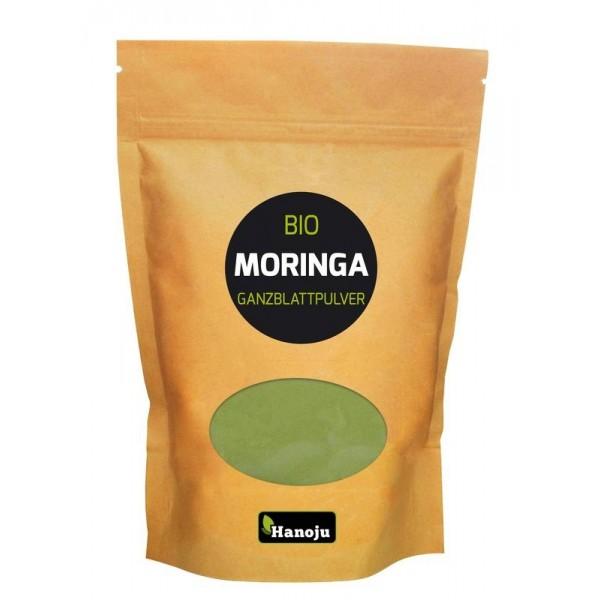 Bio moringa oleifera heelblad poeder Hanoju 1000g