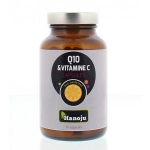 Co-enzym Q10 250 mg vitamine C 250 mg Hanoju 90cap