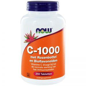 Vitamine C-1000 met rozenbottel en bioflavonoiden NOW