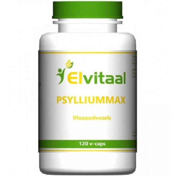 Psylliummax vlozaadvezels Elvitaal 120st