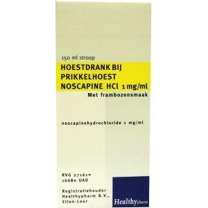 Noscapine hoestdrank