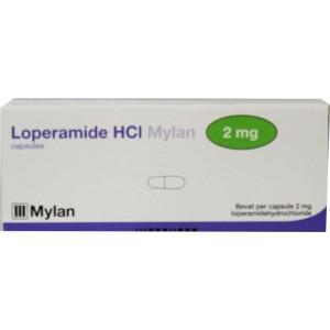 Loperamide 2 mg Mylan 20cap
