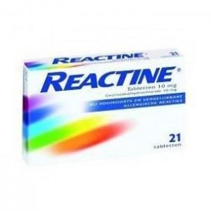 Anti histamine 10 mg Reactine 21tab