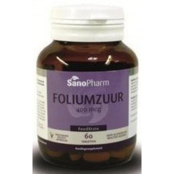foliumzuur 400mcg Sanopharm