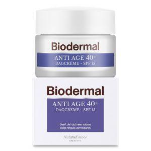 Dagcreme anti age 40+ Biodermal 50ml