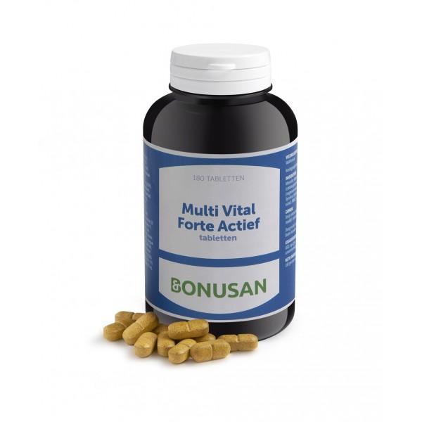 Bonusan Multi vital forte actief 180 tabletten