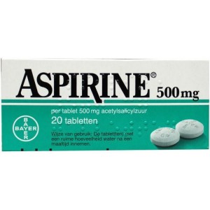 Aspirine 500mg