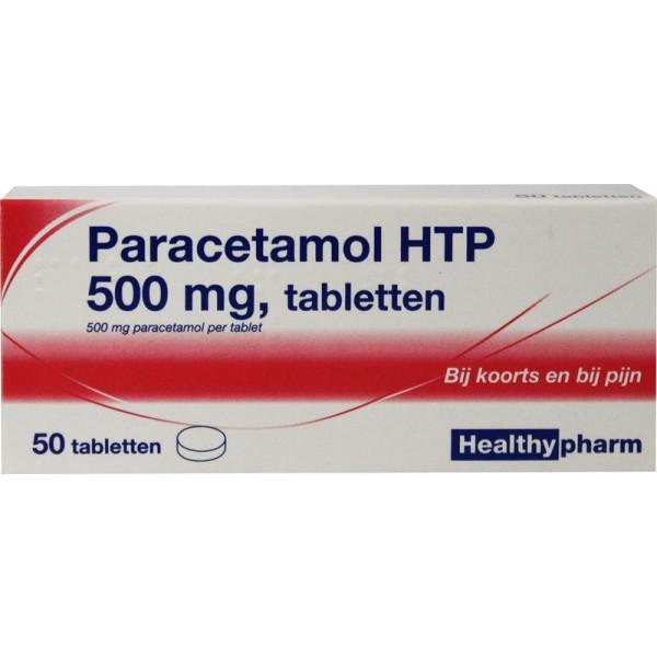 Paracetamol 500 mg Healthypharm 50tab