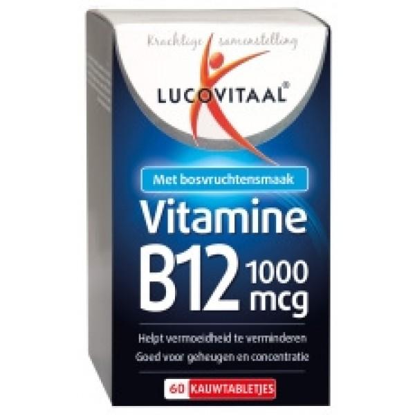 Vitamine B12 1000 mcg Lucovitaal 180tab