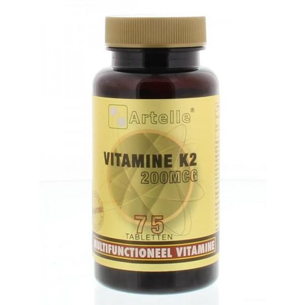Vitamine K2 200 mcg Artelle
