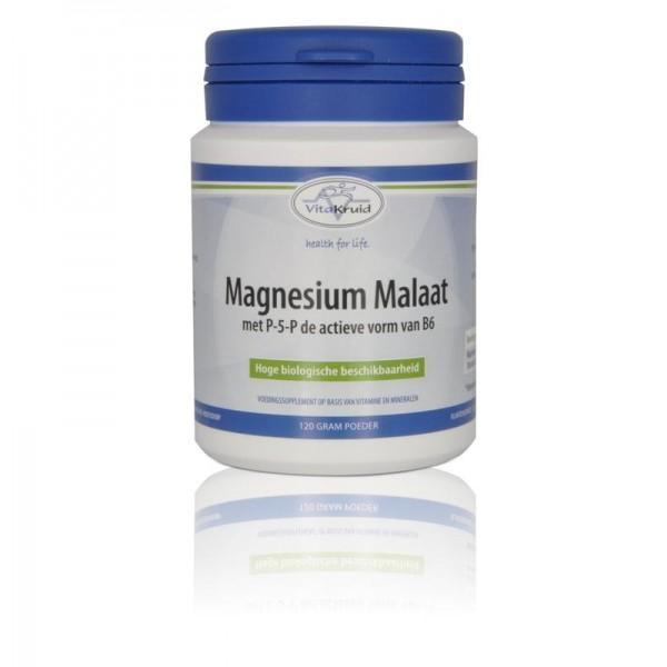 Magnesium malaat met P-5-P Vitakruid