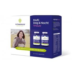 Vitakruid Multi Dag & Nacht Vrouw 2×90 tabletten