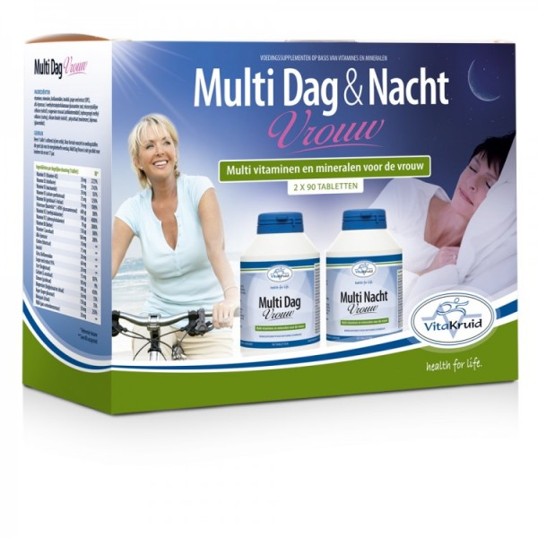 Vitakruid Multi Dag & Nacht Vrouw