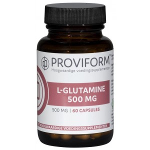 L Glutamine 500 mg Proviform 60cap
