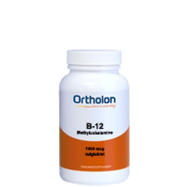 Vitamine B12 methylcobalamine 1000 mcg Ortholon