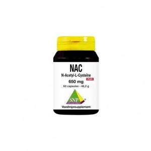 N-acetyl L-cysteine 650 mg puur SNP